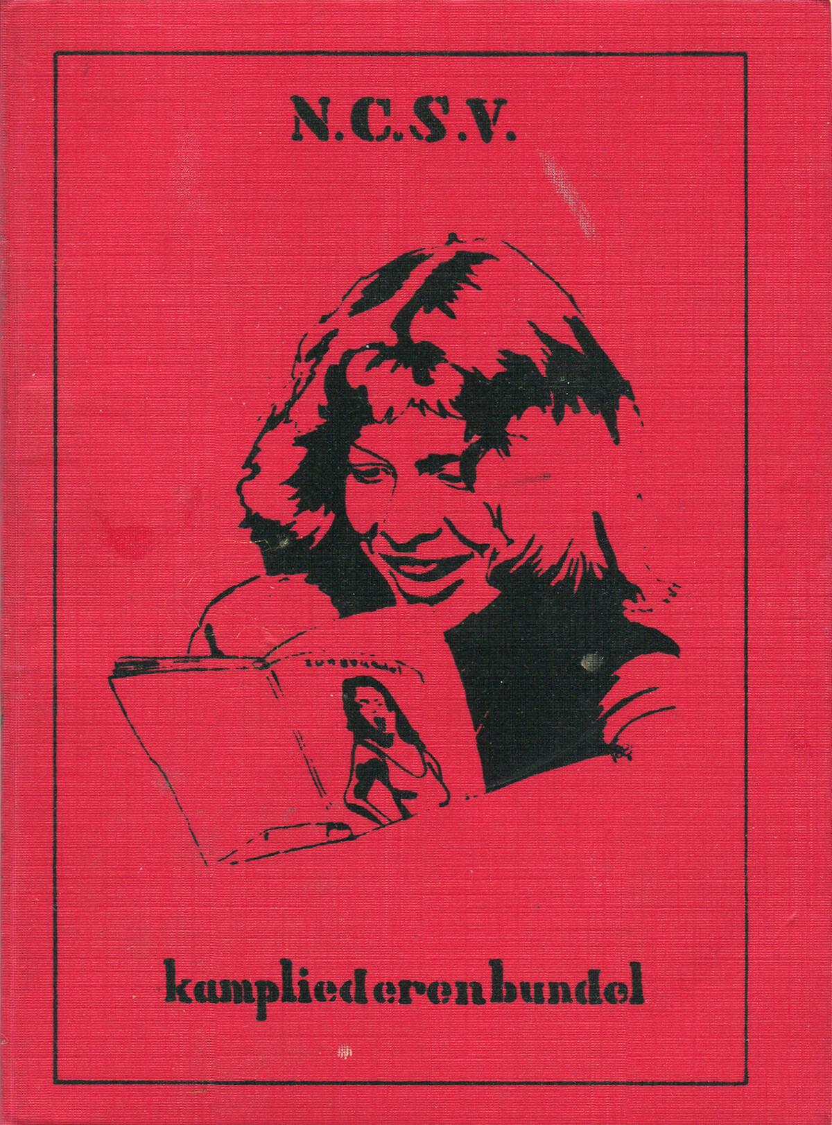 NCSV Kampliederenbundel, cover, 14.1 x 10.3 cm, 1990