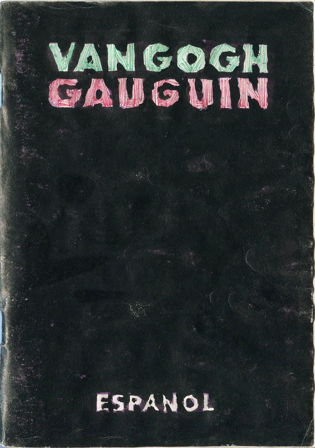 Van Gogh&Gauguin: Characteristics, versión Español, cover, 15 x 10.4 cm, 2002